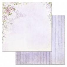 Бумага для скрапбукинга Цветочная вуаль. Рассветная дымка 30,5х30,5 см