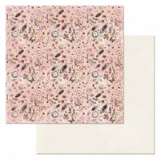 Бумага для скрапбукинга Девичья тайна. Загадочная душа 30,5х30,5 см