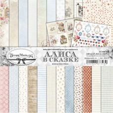 Набор бумаги Алиса в сказке 30,5х30,5 см