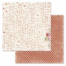 Бумага для скрапбукинга Алиса в сказке. Колода карт 30,5х30,5 см