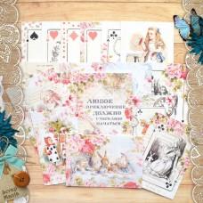 Набор карточек Алиса в сказке