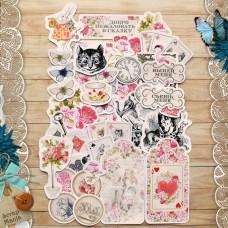 Набор вырубок из бумаги Алиса в сказке