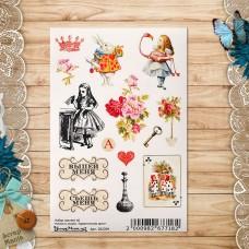 Набор наклеек А6 Алиса в сказке. Удивительное дело