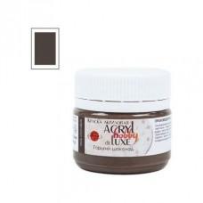 Акриловая краска Acryl hobby deLuxe, горький шоколад