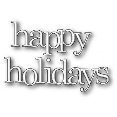 Нож для вырубки Jumbled Happy Holidays