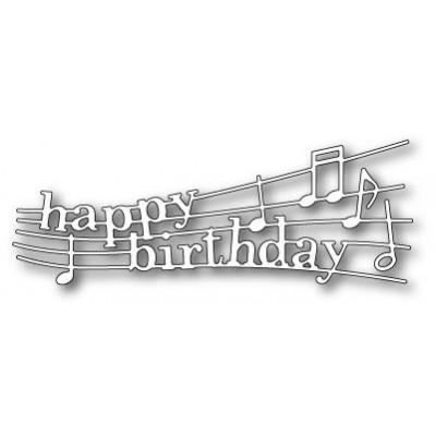 Нож для вырубки Happy Birthday Melody