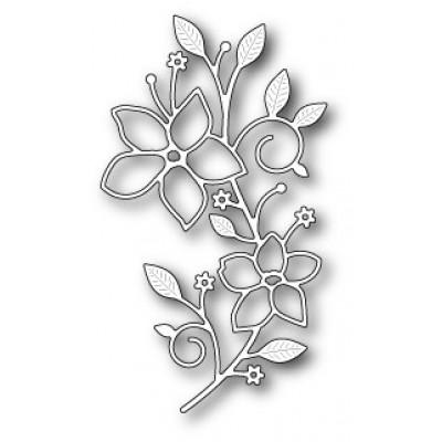 Нож для вырубки Vignette Floral Branch