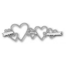 Нож для вырубки Heart Ribbon