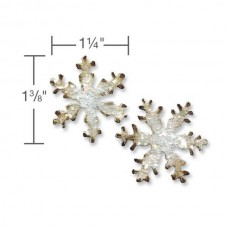 Нож для вырубки Magnetic Die Set 2PK - Mini Snowflakes Set