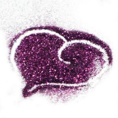 Сухой глиттер Пурпурный