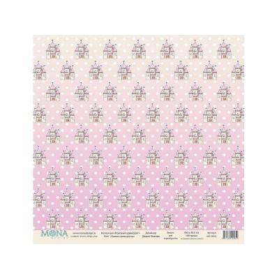 Бумага для скрапбукинга Замок принцессы 30,5 х 30,5