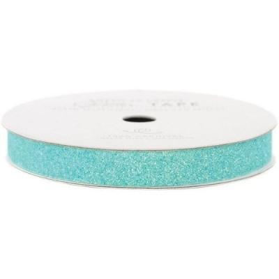 Декоративный скотч Glitter Blue, ширина 0,9 см