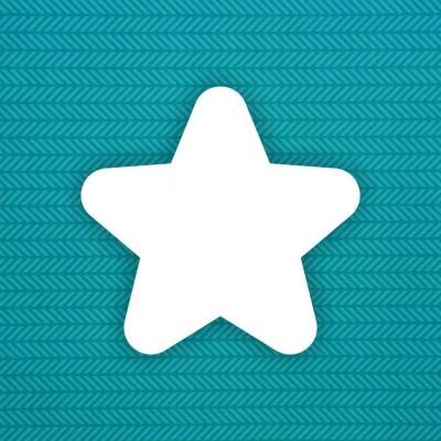 Заготовка альбома Звезда (округлая) — 6шт