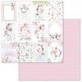 Бумага для скрапбукинга Розовые грезы — Карточки 30,5 Х 30,5