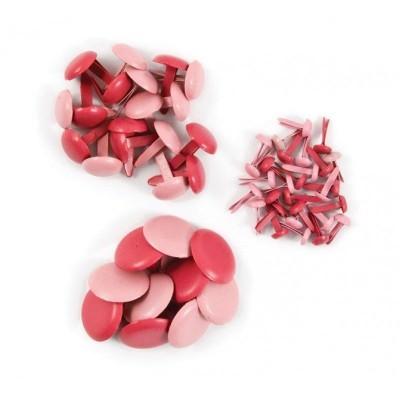 Набор брадсов, розовый