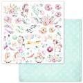 Бумага для скрапбукинга Розовые грезы — Картинки 30,5 Х 30,5