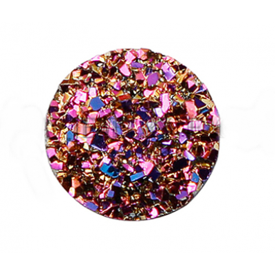 Стразы Розовый 12 мм