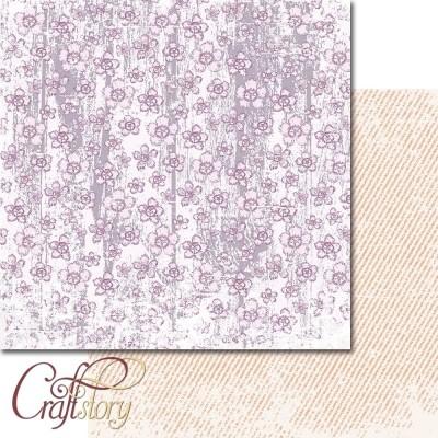 Бумага для скрапбукинга Цветочная феерия 30,5 х 30,5 см