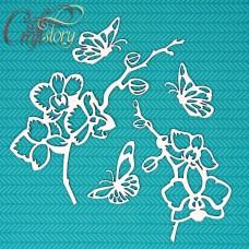 Чипборд Орхидея