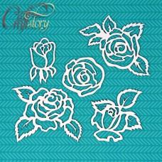 Чипборд Розы
