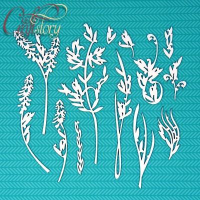 Чипборд Полевые цветы 1