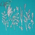 Чипборд Полевые цветы 2