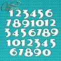 Чипборд Цифры