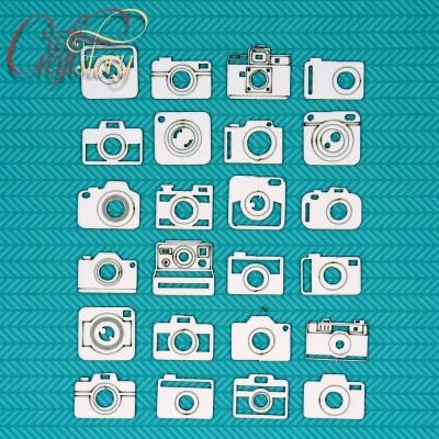Чипборд Набор фотоаппаратов