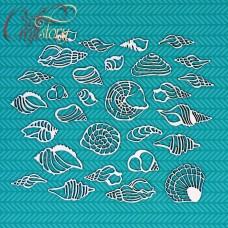 Чипборд Морские раковины 1