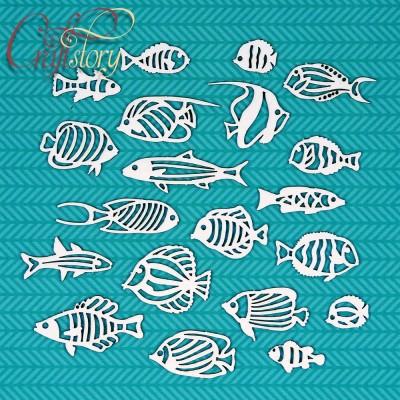 Чипборд Рыбки 1