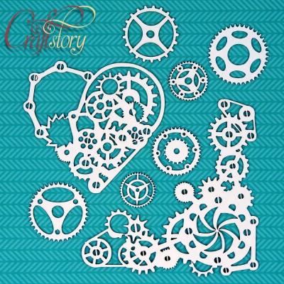 Чипборд Механическое Сердце