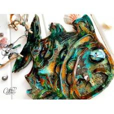 Заготовка для альбома Рыбка