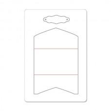 Нож для вырубки Sizzix ScoreBoards L Die - Gift Card Folder & Label