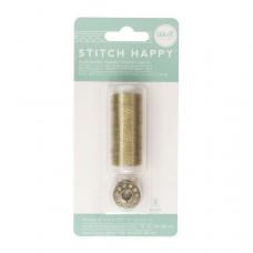 Шнур для шитья и декора Stitch Happy — Metallic Gold