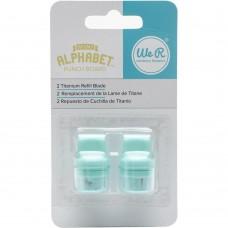 Запасные лезвия Mini Alphabet Punch Board