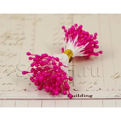 Тычинки ярко-розовые, крупные, 288 шт