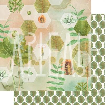 Бумага для скрапбукинга Гармония природы 30,5 х 30,5