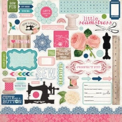 Стикеры Sew Lovely 30 х 30 см