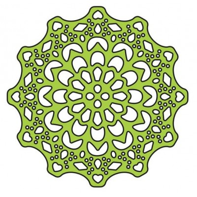 Нож для вырубки Canadian Kaleidoscope Tiny Doily
