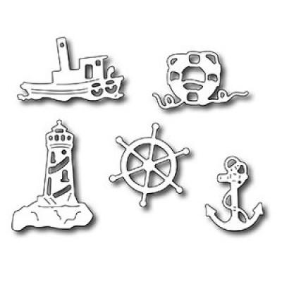 Нож для вырубки Nautical Icons