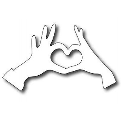 Нож для вырубки Love Hands
