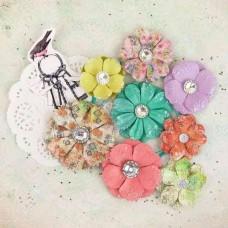 Бумажные цветы Victoria