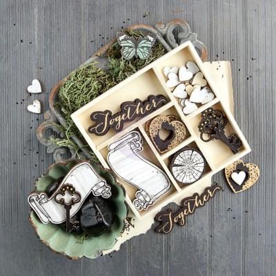 Набор деревянных украшений Wood Variety - Salvage District