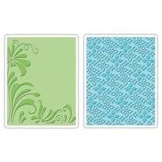 Папки для тиснения Flowers & Flourish Set