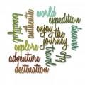 Нож для вырубки Adventure Words: Script