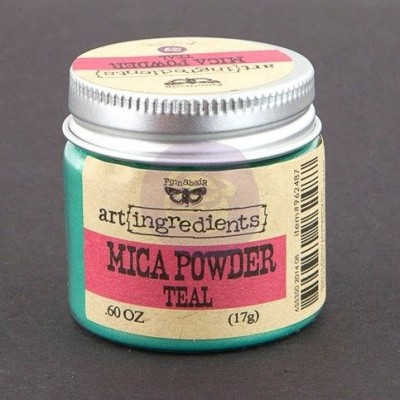 Краска-порошок Art Ingredients Mica Powder Teal