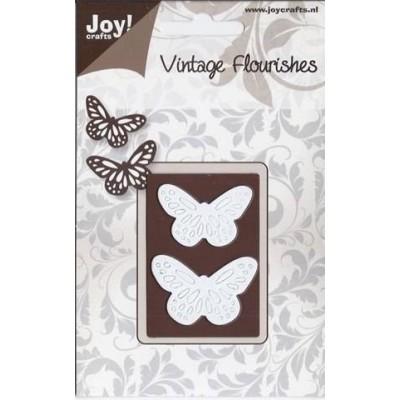 Нож для вырубки Vintage Flourish Butterflies