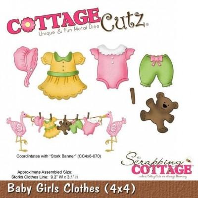 Нож для вырубки Baby Girls Clothes