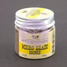 Микробисер Art Ingredients — Bronze