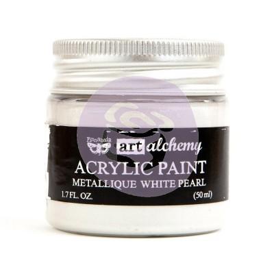 Акриловая краска Art Alchemy — White Pearl